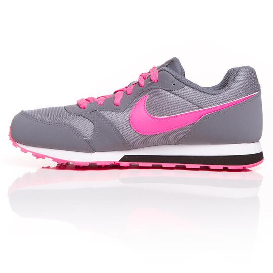 NIKE RUNNER Sneakers Gris rosa Niña (36-38,5)