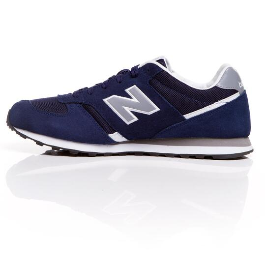 NEW BALANCE Sneakers Marino Gris Hombre