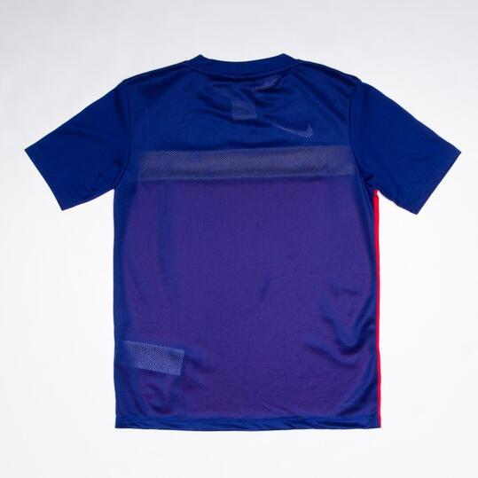 NIKE ACADEMY Camiseta Fútbol Rojo Niño (10-16)