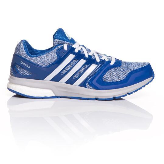 ADIDAS QUESTAR BOOST Zapatillas Running Hombre Azul