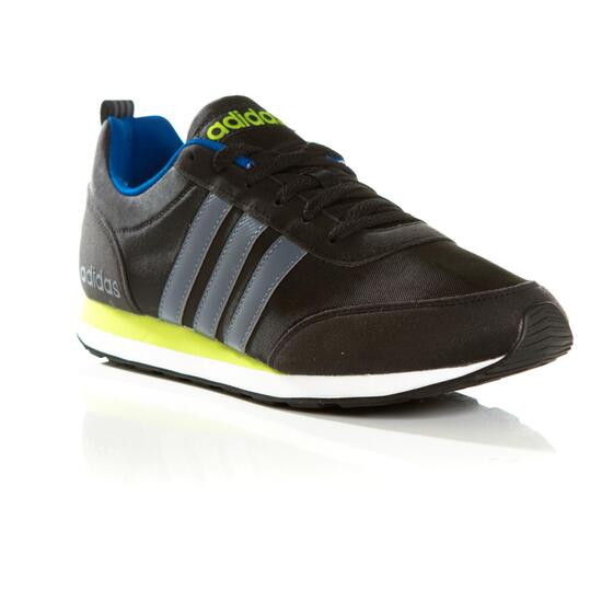 ADIDAS RUN VS Sneakers Casual Negro Gris Hombre