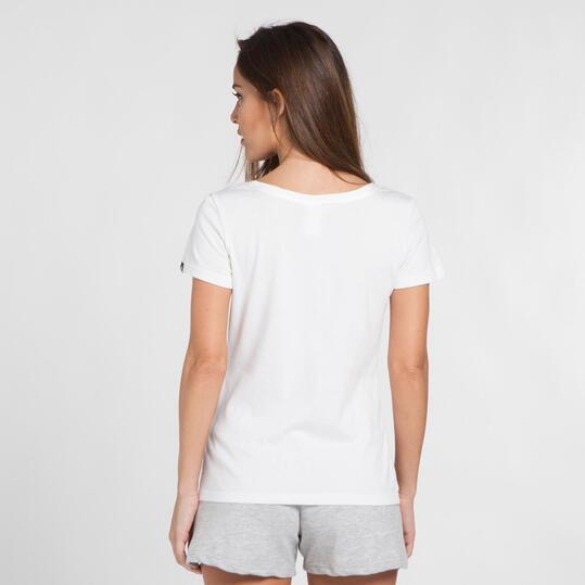 ADIDAS Camiseta Blanca Mujer