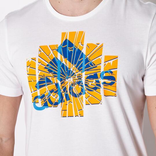 ADIDAS GRPH Camiseta Manga Corta Blanco Hombre