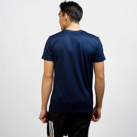 ADIDAS Camiseta Deportiva Marino Hombre