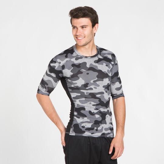 ADIDAS TECHFIT BASE Camiseta Compresión Camuflaje Hombre