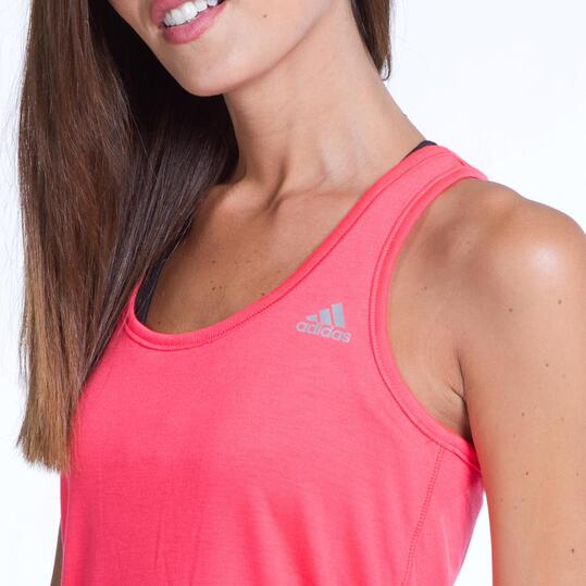 ADIDAS PRIME Camiseta Roja Mujer