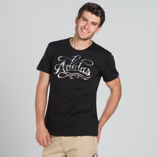 ADIDAS FOIL LINEAGE Camiseta Hombre Manga Corta