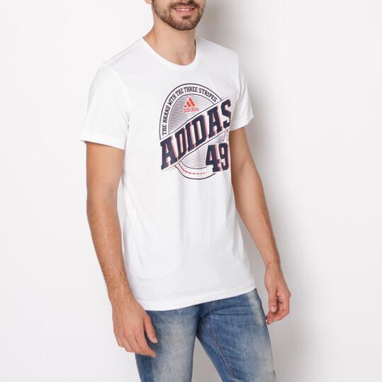 ADIDAS QQR Camiseta Blanca Hombre