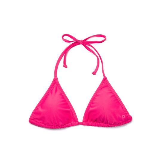 Top Bikini Triángulo UP BASIC Fucsia