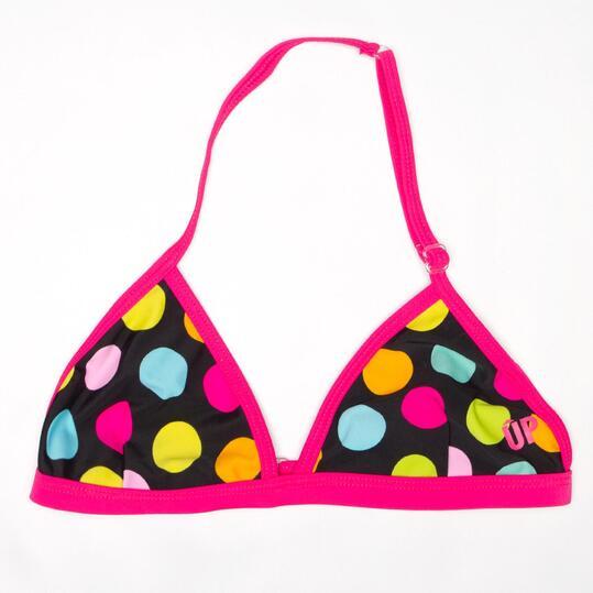 Top Bikini UP Lunares Niña (10-16)