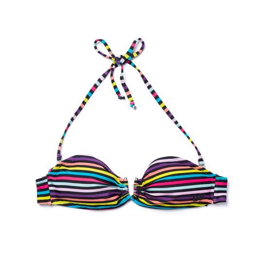 Top Bikini Bandeau UP STAMPS Rayas