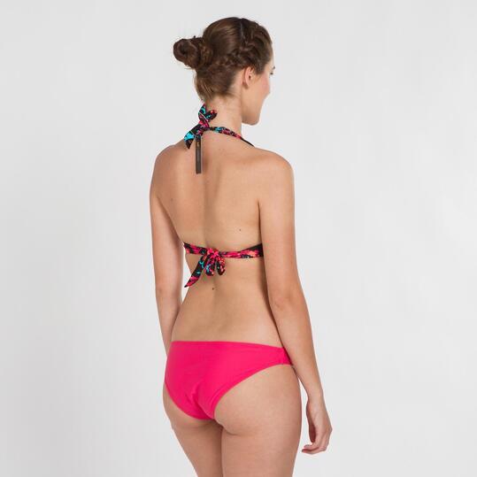 Top Bikini Triángulo UP STAMPS Flores