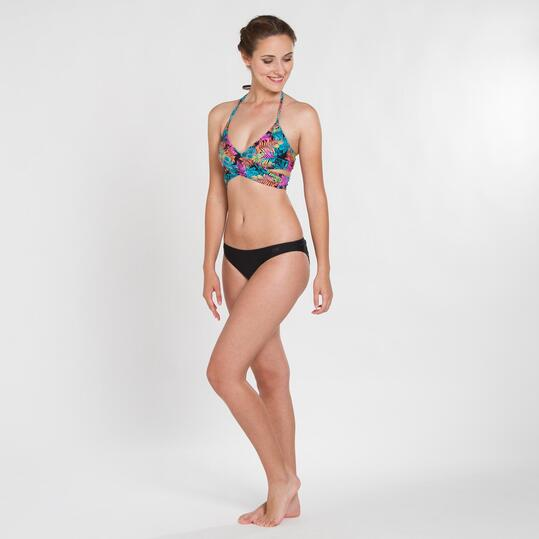 Top Bikini Cruzado UP STAMPS Palmeras