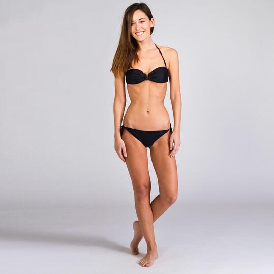 Braguita Bikini UP STAMPS Negra