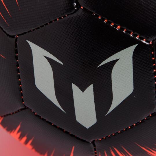 ADIDAS MESSI Minibalón Rojo Negro