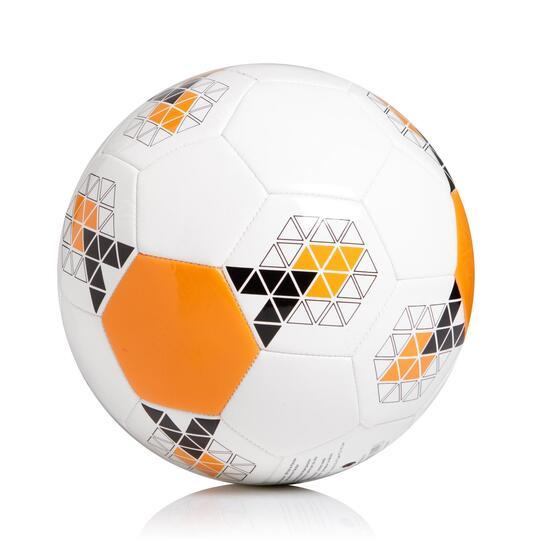 ADIDAS STARLANCER Balón de Fútbol Blanco Naranja