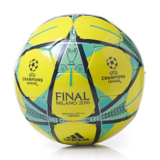 ADIDAS FINMILANO Balón Fúbol Flúor