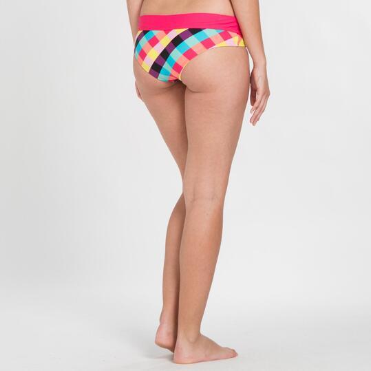 Bikini Culotte SILVER Cuadros Mujer
