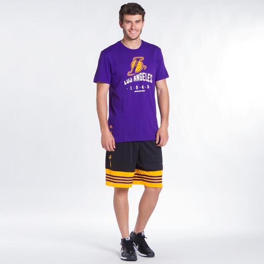 ADIDAS NBA Camiseta Lakers Hombre