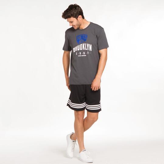 ADIDAS NBA Camiseta Brooklyn Hombre