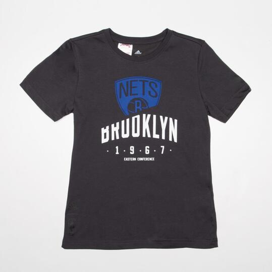 ADIDAS NBA Camiseta Brooklyn Niño (10-16)