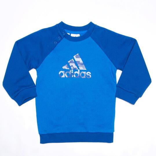 ADIDAS Chándal Bebé Azul (9m-24m)