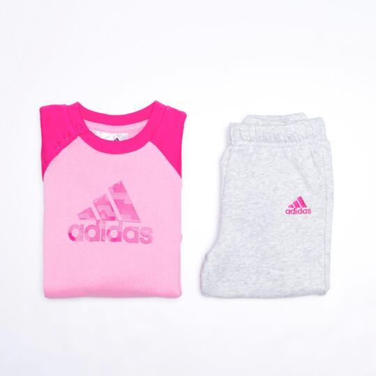 chandal adidas rosa niña