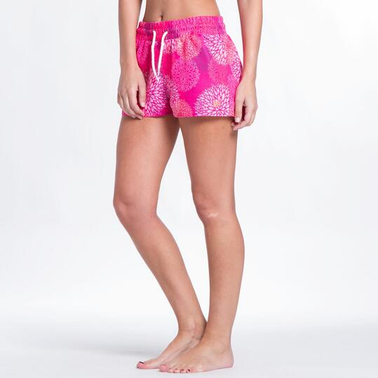 Pantalón Corto UP Coral Mujer