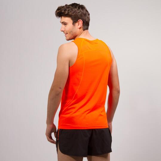 Camiseta Running IPSO BASIC Naranja Hombre