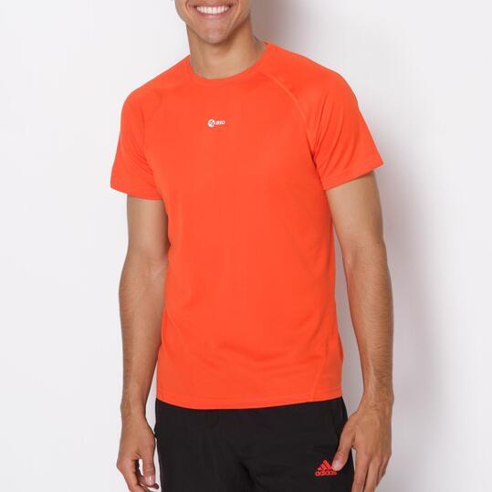 Camiseta Running IPSO Basic Rojo Hombre