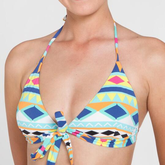 Bikini Triángulo SILVER Geométrico Mujer