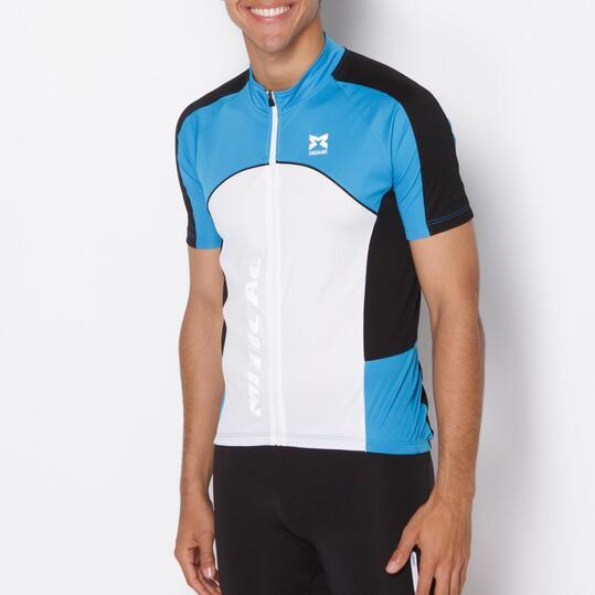 Maillot Ciclismo MITICAL PLATA Azul Hombre