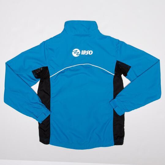 Cortavientos Running IPSO Azul Negro Niño (10-16)