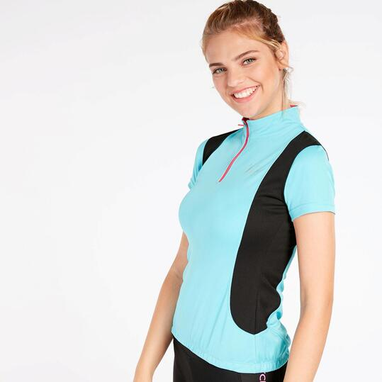 Maillot Ciclismo MÍTICAL Celeste Mujer