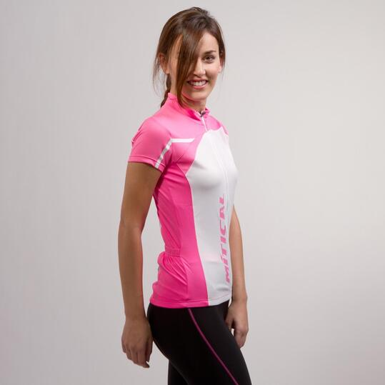 Maillot Ciclista MÍTICAL Rosa Mujer