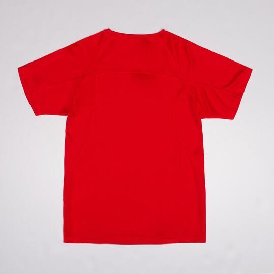 Camiseta Running Manga Corta IPSO Rojo Niño