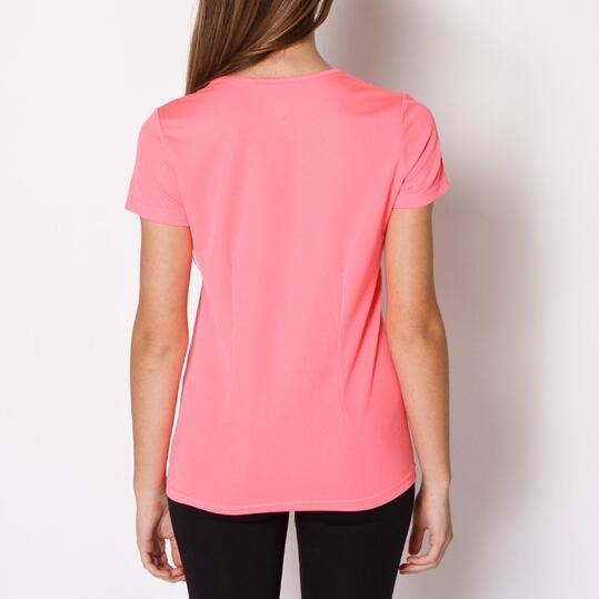 Camiseta Running IPSO BASIC Fresa Mujer