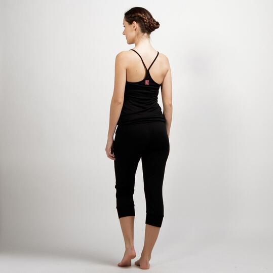 Mono Largo Yoga ILICO Negro Mujer