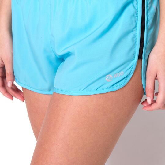 Pantalón Running IPSO COMBI Celeste Mujer