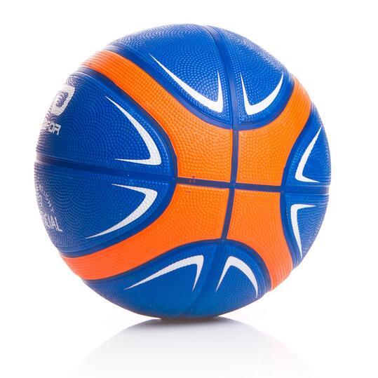 DAFOR Balón Baloncesto Azul Naranja