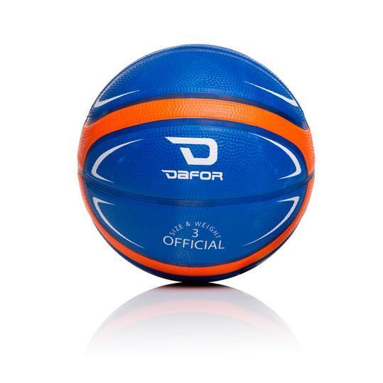 Minibalón Basket DAFOR Azul Naranja