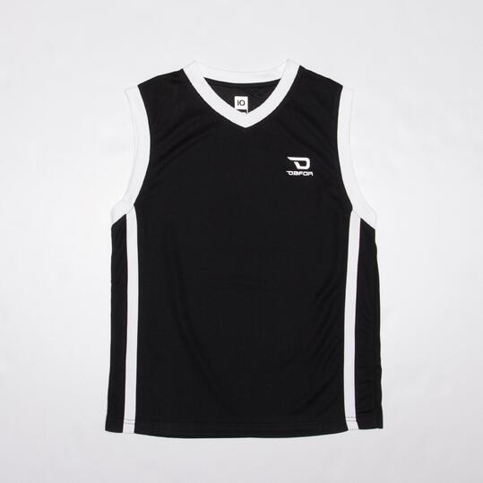 Camiseta Baloncesto DAFOR Azul Niño (10-16)