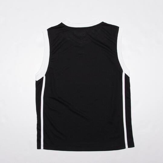 Camiseta Baloncesto Junior Dafor Negra