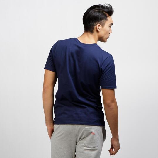 NIKE JDI FLOW Camiseta Manga Corta Marino Blanco
