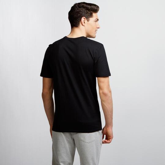 NIKE FUTURA ART Camiseta Casual Negro Hombre