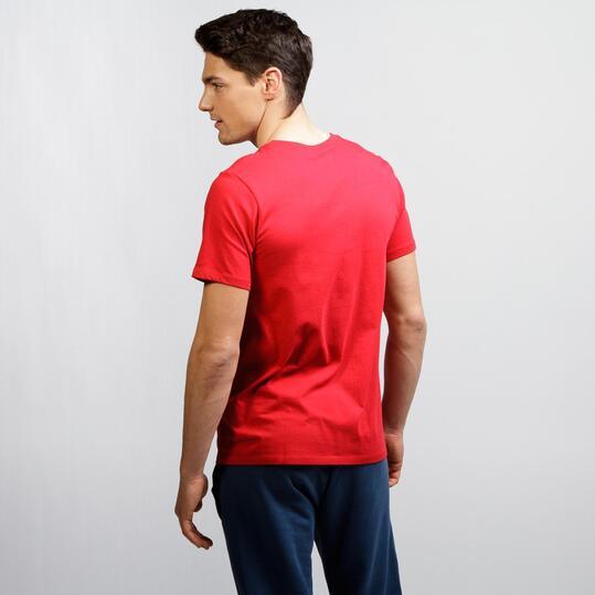 NIKE FUTURA ART Camiseta Casual Rojo Hombre