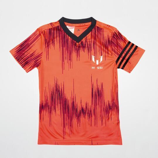 ADIDAS MESSI Camiseta Fútbol  Manga Corta Niño (10-16)