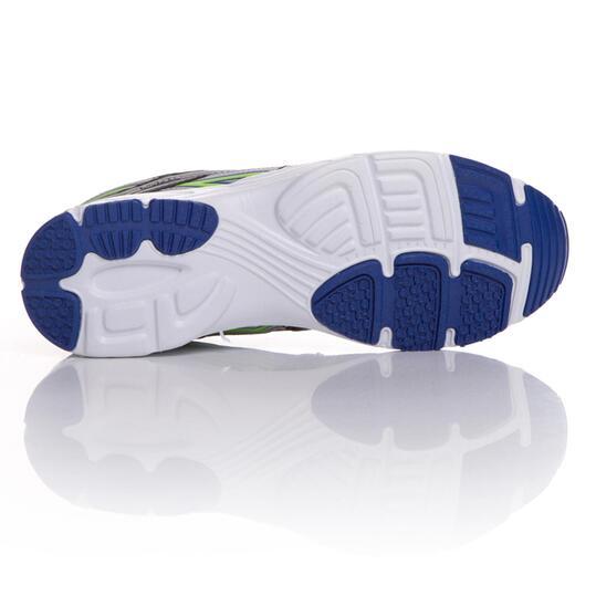 Zapatillas Running IPSO Negro Azul Hombre