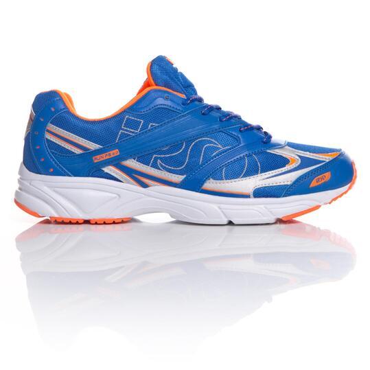 Zapatillas Running IPSO Azul Naranja Hombre
