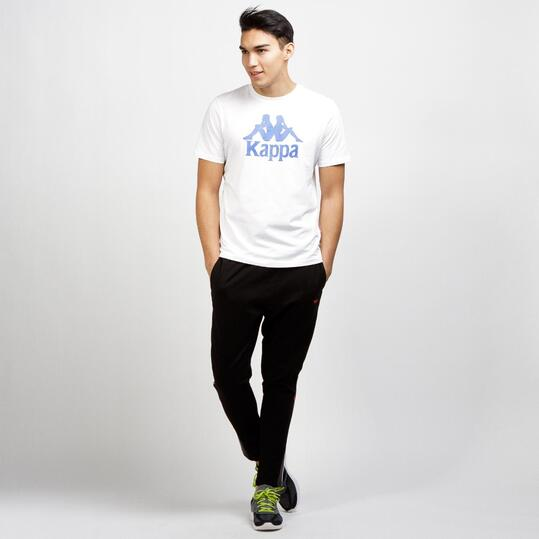 KAPPA Camiseta Manga Corta Blanco Hombre